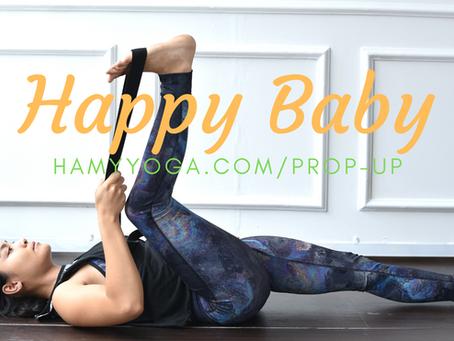 Happy Baby trong Yoga - Em Bé Hạnh Phúc