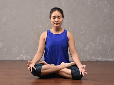 Prop Up: Padmasana - Lotus Pose