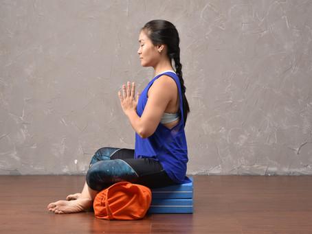 Prop Up: Sukhasana - Easy Seat Pose in Yoga