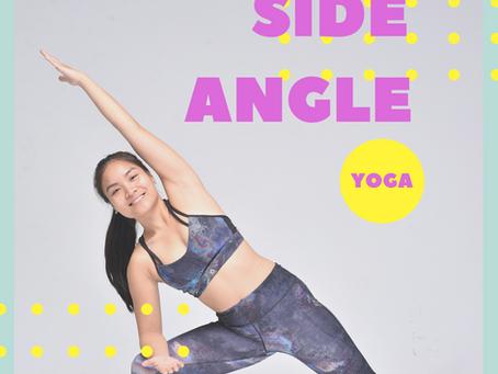 UTTHITA PARSVAKONASANA - Tư Thế Góc Nghiêng Trong Yoga