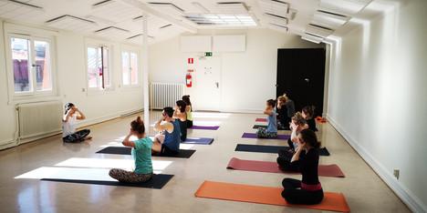 yoga class in malmö sweden