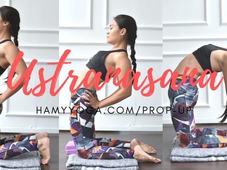 Tư thế Lạc Đà trong Yoga - Ustranasana
