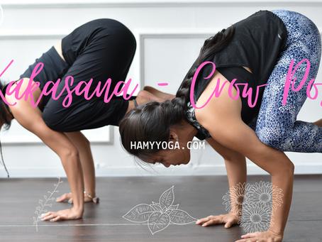 Các bước Tư thế Con Quạ trong Yoga