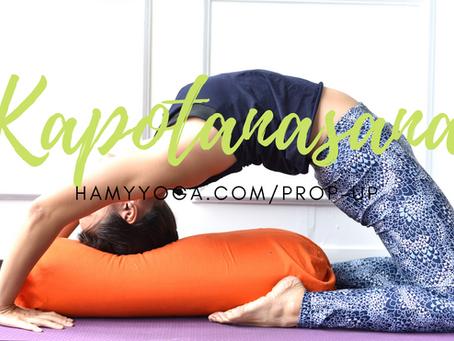 Kapotanasana - Tư thế Bồ Câu / Kim Cương trong Yoga