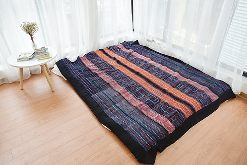H'Mong Blanket - Red Indigo