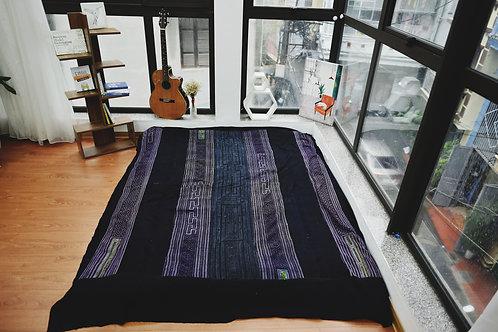 H'Mong Blanket - Purple Indigo
