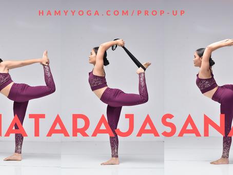 Tư thế Vũ Công trong Yoga - Natarajasana