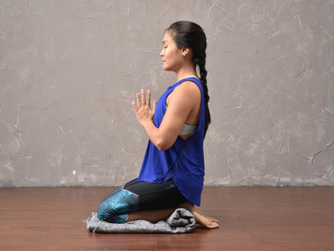 Prop Up: Virasana - Hero Pose in Yoga