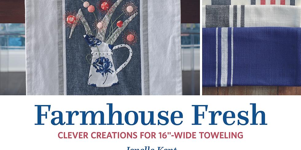 Farmhouse Fresh Book Class April