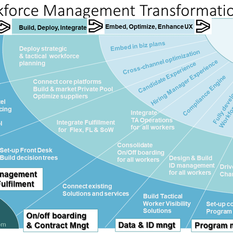 Designing a Transformation Journey to Total Workforce Management