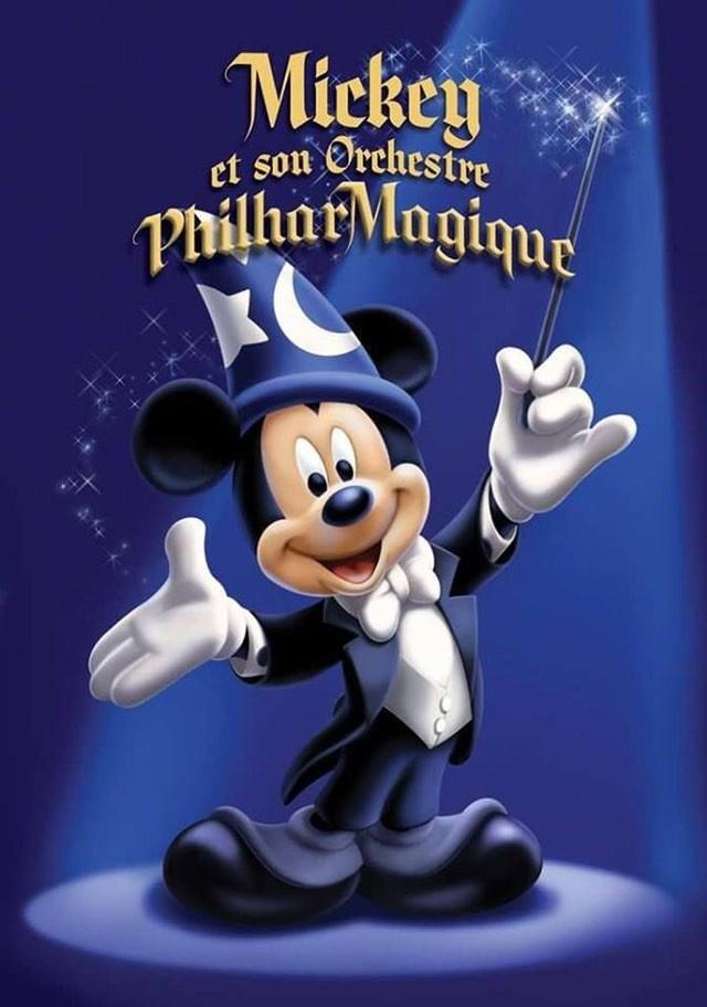 Mickey y su orquesta Filarmónica Disneyland Paris