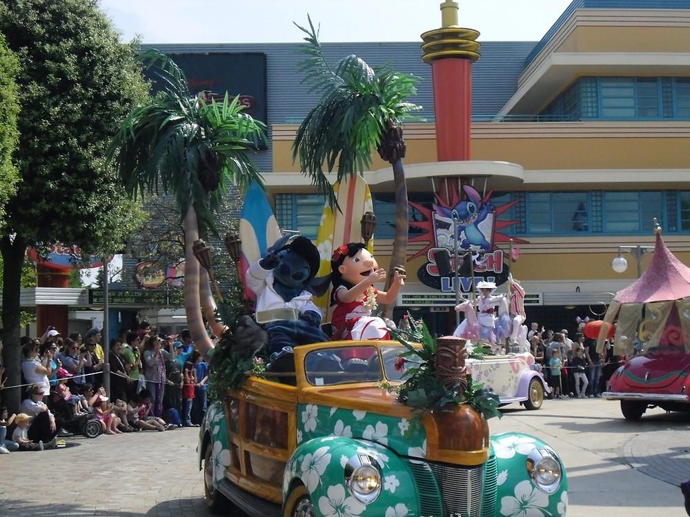 Disney Stars 'n' cars Parade Disneyland Paris Walt Disney Studios