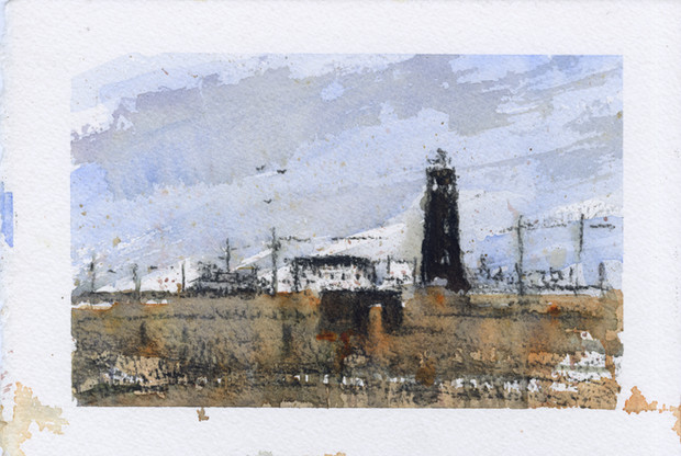 Dungeness Mixed media