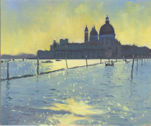 Venice Evening - SOLD