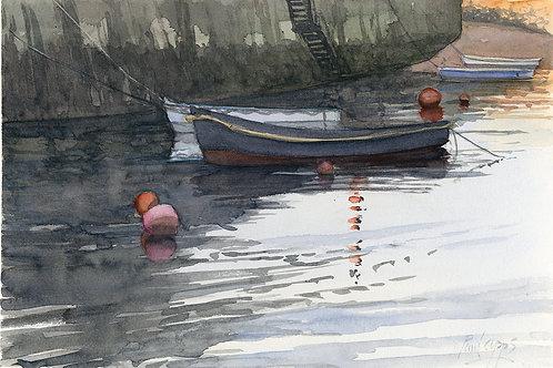 Tender in Folkestone Harbour