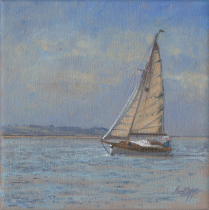 Sailing in the Swale