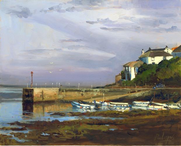 Porthleven Harbour- SOLD