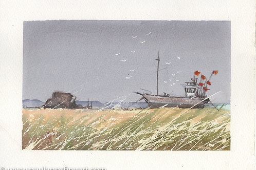 Fishing boat at Dungeness