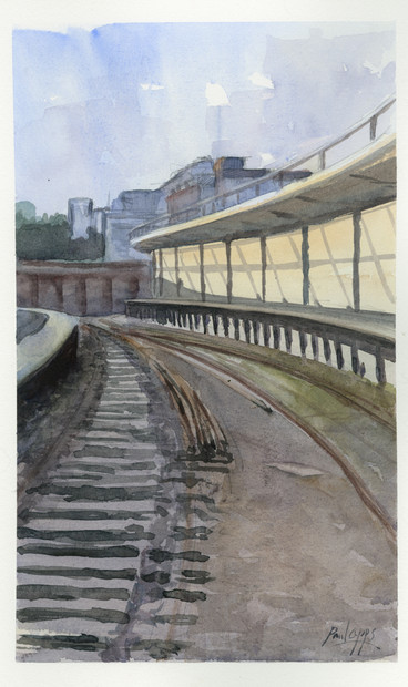Disused Station - Folkestone Harbour