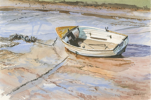On the mud at Brancaster Staithe
