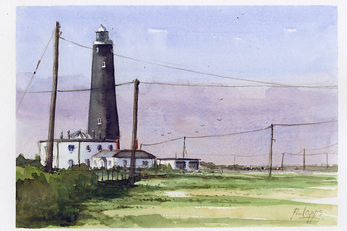 Old Lighthouse at Dungeness