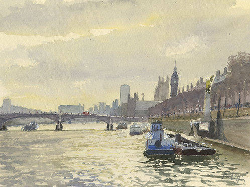 The Thames at Westminister