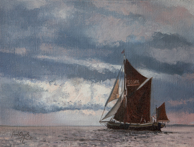 EDME, heading into a storm- SOLD