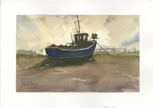 Fishing Boat at Hythe - SOLD