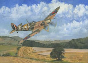 Mk Vb over Saltwood