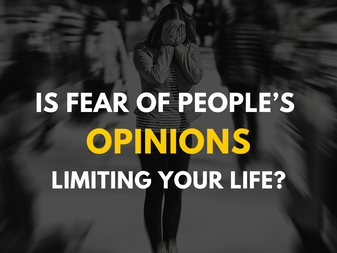 Is fear of people's opinions (FOPO) limiting your life?