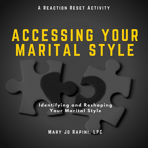 Assessing Your Marital Style