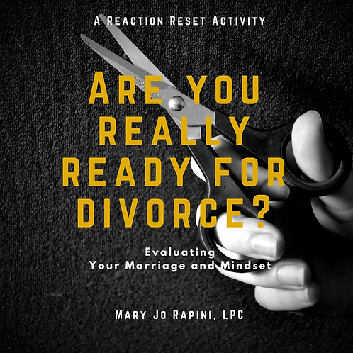 Are You Really Ready for a Divorce?