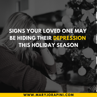 Signs Your Loved One May Be Hiding Their Depression This Holiday Season