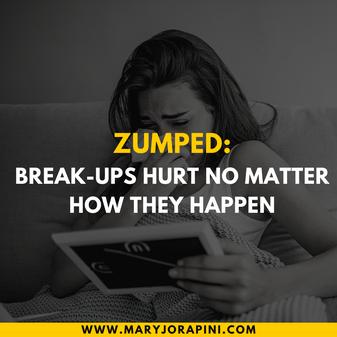 Zumped: Break-Ups Hurt No Matter How They Happen
