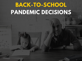 Managing Anxiety About Back-To-School Pandemic Decisions