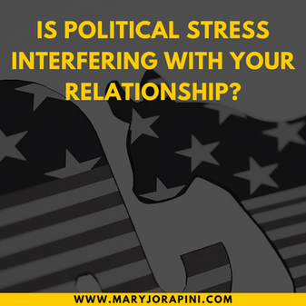 Is political stress interfering with your relationship?