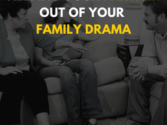 Keeping Your Partner Out of Your Family Drama