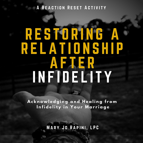 Restoring a Relationship After Infidelity