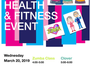 """Cara Squared Presents: """"Spring 🌸 Into Health & Fitness Event"""""""