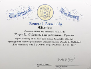 Praise from Assemblywoman Angela Mc Knight - State of NJ!