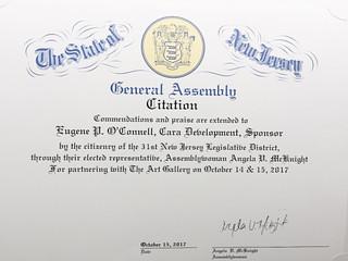 Praise from Assemblywoman Angela Mc Knight - State of NJ!