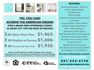 3 Affordable Condominiums in the heart of Greenville, Jersey City - FOR SALE NOW!