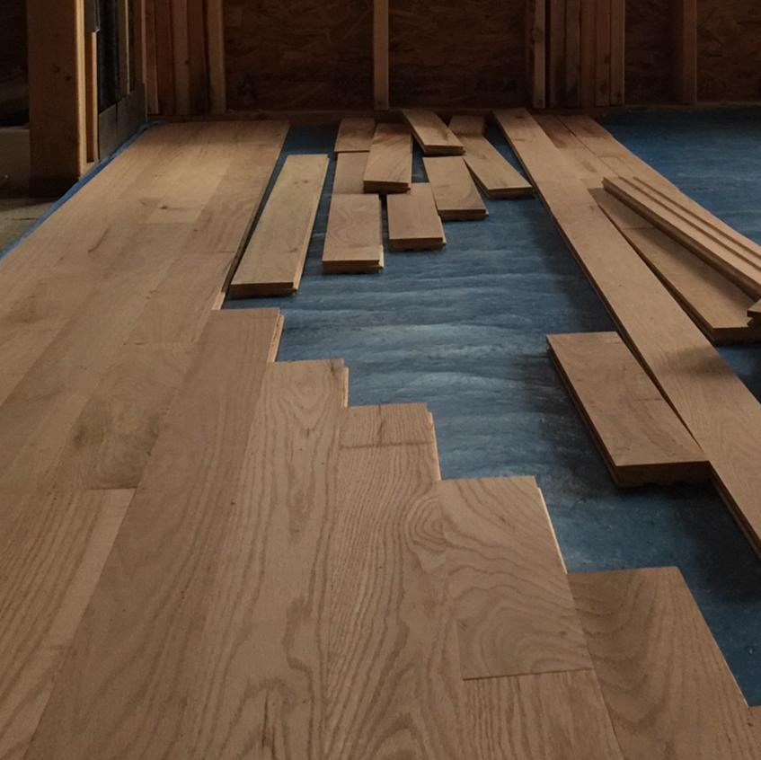 Hard wood Floors !