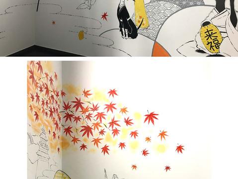 壁画(株式会社マイプリント本社) wallart : myprint office