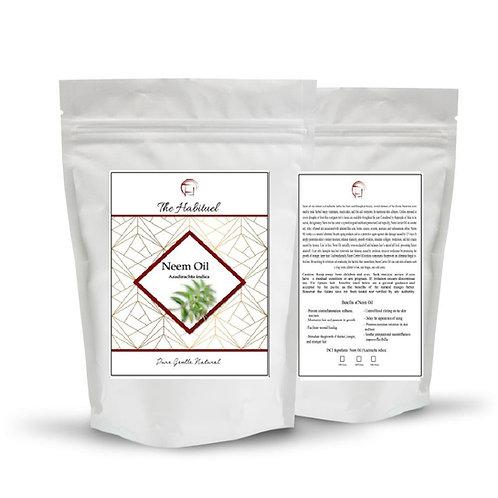 Neem Oil Pure Cold Pressed Unrefined Premium Seed Kernel Non GMO - 16 oz