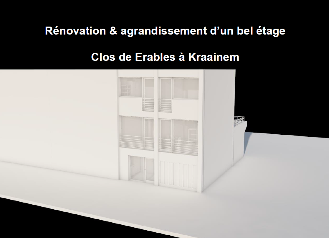 Rénovation maison unifamiliale