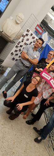 "Team organisation événement ""Erasmus Students"" à l'UMons"