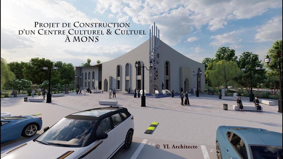 Nouveau centre culturel et cultuel de la ville de Mons