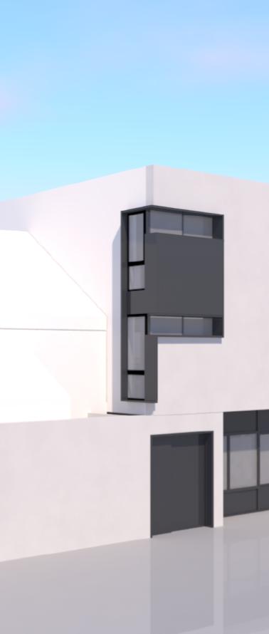 Perspective de la Façade principale