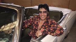 Kjell Elvis in His Cadillac!